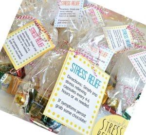 Regalos con juguetes y productos relajantes para aliviar el estrés