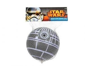 Figuras antiestres de Star Wars: la estrella de la muerte, storm troopers, jedis